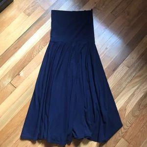 JCrew Navy Tube Top Dress Sz S